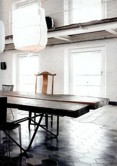 Courtesy of: www.yellowtrace.com.au Umbria apartment. Italy by Paola Navone
