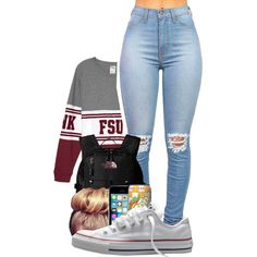 Untitled | 122 by ashia1 on Polyvore featuring polyvore, fashion, style, Converse, The North Face and MANGO