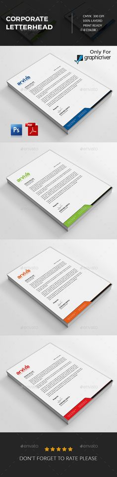 Energy amp; Environment Letterheads - Free small, medium and large - psd letterhead template