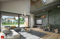 Projekt Pelikan XI - elewacja domu
