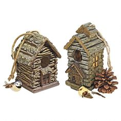 Backwoods Bird House Collection