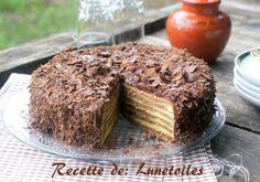Gâteau rayé, Baumkuchen - Amour de cuisine