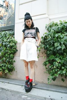 ストリートスナップ [yama]   BELLY BUTTON, Vivienne Westwood, Y's   原宿   Fashionsnap.com