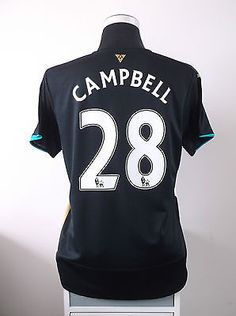 Joel campbell #28 arsenal third #football #shirt jersey #2015/16 (l) ,  View more on the LINK: 	http://www.zeppy.io/product/gb/2/331818347361/