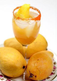 Exotic Drink for Memorial Day Long Weekend: Mango Lemonade. Refreshing Drinks, Summer Drinks, Fun Drinks, Beverages, Mango Drinks, Fruity Drinks, Mixed Drinks, Cold Drinks, Recipes