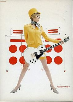 Pizzicato Five - Non Stop to Tokyo Tokyo, Japanese Graphic Design, Music Covers, 70s Fashion, Editorial Design, Pin Up Girls, My Music, Cool Designs, Indie