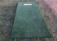 Building a portable pitching mound is not as difficult as it looks. Let's learn how you can build your own pitching mound with wheels with this DIY method. Portable Pitching Mound, Backyard Baseball, Softball Pitching, House Projects, Furniture Projects, Wood Projects, Basketball Stuff, Football Stuff, Baseball Training