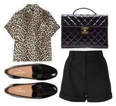 """""""Untitled #2594"""" by fiirework ❤ liked on Polyvore featuring Mode, Chanel, IRO und rag & bone"""