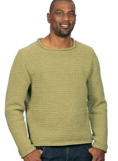 Comforolled Crocheted Pullover Pattern - Knitting Patterns by Drew Emborsky