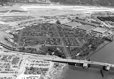 In World War II, Boeing built a fake rooftop town to hide its factory beneath from potential air strike by the Japanese.