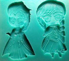 Anna & Elsa Disney Frozen Silicone Heat Safe by AmysPartySupplies