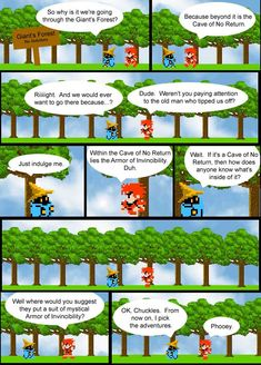 """""""8-Bit Theater"""" by Brian Clevinger:   A humorous, award-winning sprite comic based on the video game Final Fantasy I."""