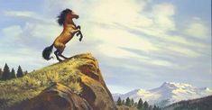Spirit stallion of the Cimarron-Concept art Spirit The Horse, Spirit And Rain, Spirit Der Wilde Mustang, Storyboard, Horse Movies, Spirit Tattoo, Horse Art, Disney Animation, Disney And Dreamworks