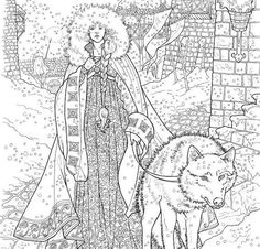 Game Of Thrones And Outlander Coloring Books See A
