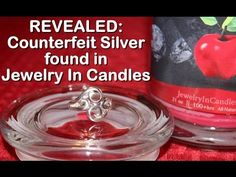 REVEALED: Counterfeit Silver in Jewelry In Candles - 3 Rings Shown! - YouTube