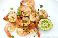 Clean Eating Garlic And Lime Shrimp