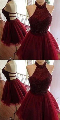 Burgundy Homecoming Dress, Cute Party Dresses, Short Homecoming Dress, Party Dresses For Teens, Cheap Party Dresses Short Homecoming Dresses Source by criseliziane Dama Dresses, Hoco Dresses, Sexy Dresses, Fashion Dresses, Cute Short Dresses, 8th Grade Prom Dresses, Teen Dance Dresses, Stylish Dresses, Short Tulle Dress