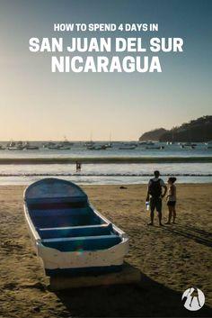 How to Spend 4 Days in San Juan del Sur, Nicaragua via @suitcaseheels