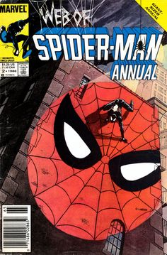 Web of Spider-Man Annual N°2 (September 1986) - Cover by Charles Vess