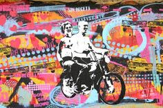 Image result for stencil graffiti colorful buenos aires