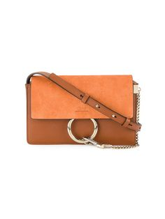 Chloé Small Orange Faye Shoulder Bag