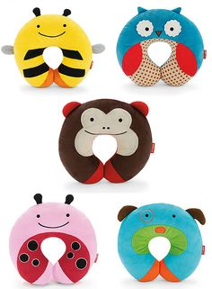 Skip Hop Zoo Travel Neckrests for Kids