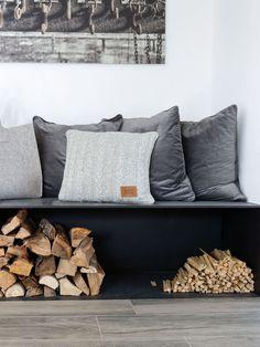 Die 23 besten Bilder auf Kamin / Holz Aufbewahrung | Fireplace set ...
