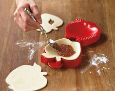 Apple Pocket Pie Mold from Williams Sonoma