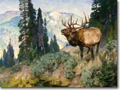 artist, Carl Runguis 1869-1959  #art