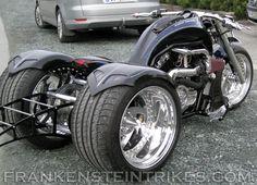 frankenstein trikes custom V-Rod trike