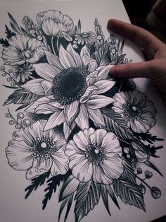 Impressive Black And White Sunflower Tattoo Ideas Sunflower tattoo – Top Fashion Tattoos Sunflower Tattoo Sleeve, Sunflower Tattoo Shoulder, Sunflower Tattoo Small, Sunflower Tattoos, Sunflower Tattoo Design, White Sunflower, Black Tattoos, Body Art Tattoos, New Tattoos