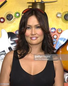 Tia Carrere during ESPN Action Sports and Music Awards Pressroom at The Universal Ampitheatre in Universal City California United States Universal City California, Beautiful Eyes, Beautiful Women, Best Sci Fi Shows, Tia Carrere, Relic Hunter, Mejores Series Tv, The Hollywood Bowl, Paramount Pictures