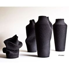 Ashes Vases by Birgit Severin. For more info and images visit www.prodeez.com #furniture #vase #rubber #creative #design #ideas #art #designer #birgitseverin #interior #interiordesign #product #productdesign #instadesign #furnituredesign #prodeez #industrialdesign #architecture #style