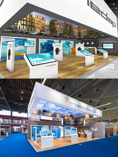 Exhibition stand design from The Inside stand building at Intertraffic at RAI Amsterdam, The Netherlands