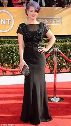 Kelly Osbourne in Jenny Packham - SAG Awards 2013