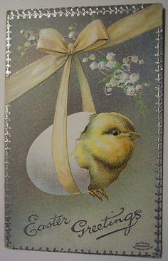easter postcards vintage | Recent Photos The Commons Getty Collection Galleries World Map App ...
