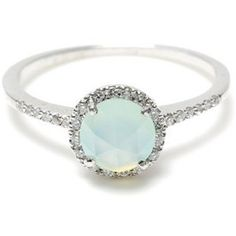 mint opal ring- gorgeous!