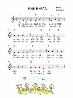 Kids Songs, Pre School, Preschool Activities, Sheet Music, Classroom, Teacher, Education, Learning, Children