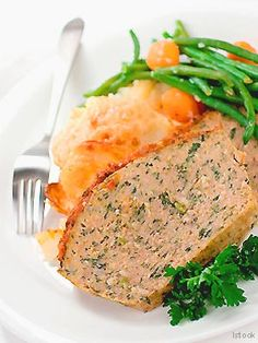 Made with lean ground beef, this comfort-food classic fits perfectly into the South Beach Diet lifestyle. For a milder flavor, the veggies are sautéed before mixing them with the meat; handle the meat gently to achieve the moistest meat loaf.