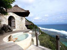 #Karma Spa #Luxury Villas at Karma Kandara -Bali Indonesia. Karma Kandara  is blessed with the most exhilarating views imaginable- a seemingly limitless vista of ocean and sky