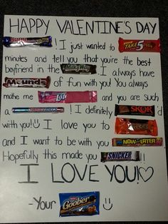Put the wrapper on the paper. Then include a bag with all the candies in it. (Buy 2 of each bar!)