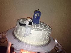 Awesome cake topper! Any Dr Who fans out there?