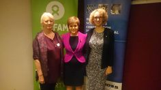 """Huge thanks to First Minister #NicolaSturgeon for her keynote address at the #NIDOS event today on """"Closing the inequality gap in Scotland and around the globe"""". The FM recognised the importance of a joined up approach to tackling inequality when she said: """"Scotland can't act with credibility overseas if we're blind to inequality at home, and our efforts at home are undermined without global action"""". Pictured here with Annie Lewis from NIDOS (left) and Lisa Stewart from Oxfam Scotland (righ..."""