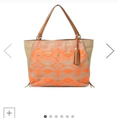 The Switch in Aztec Coral! Only used a few times! Stella & Dot Bags Shoulder Bags