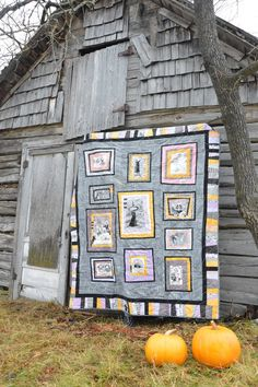 ocd: obsessive crafting disorder: Ghastlies quilt is finished!