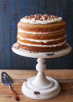 Sweet Potato Spice Cake with Cream Cheese Frosting