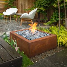 Image result for modern firepit