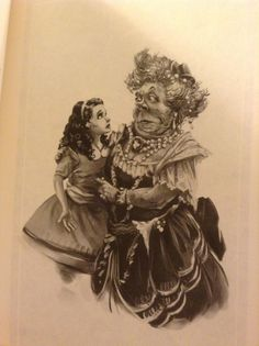 """tippetarius: """" Alice and the Duchess, by Andrew Johnson. This book is so gorgeous. """""""
