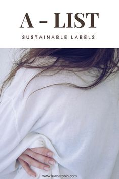 First label on the A-List is online.  IG: luana.robin.blog www.luanarobin.com Sustainability, Robin, Label, T Shirts For Women, Blog, Tops, Fashion, Moda, Robins