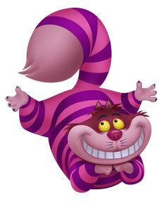 Will have to have a picture of the Cheshire Cat hanging in the tree of my Alice in wonderland garden